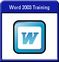 Microsoft Word 2003 Training